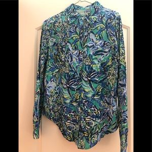 Lilly Pulitzer Sea View Blouse